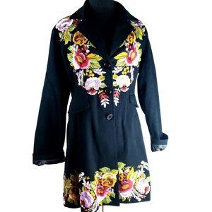 PAPARAZZI by biz Women's Black Floral Boho